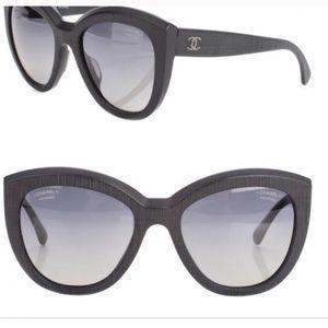 POLARIZED CHANEL sunglasses cat eye
